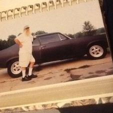 James' dad with the Chevy II