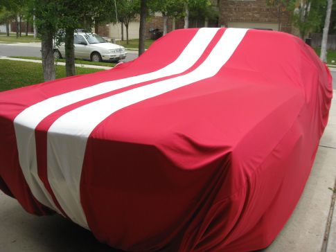 Jackie got Carl this matching car cover