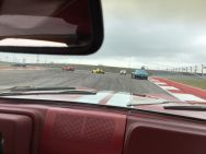 Driving a lap at COTA