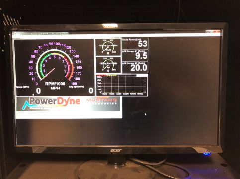 Chassis Dyno Readout