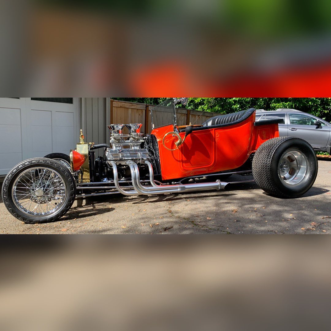 23 Ford Roadster street rod hot rod