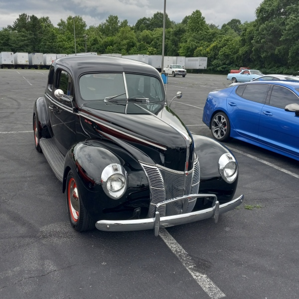 Ford Classic Coupe hot rod