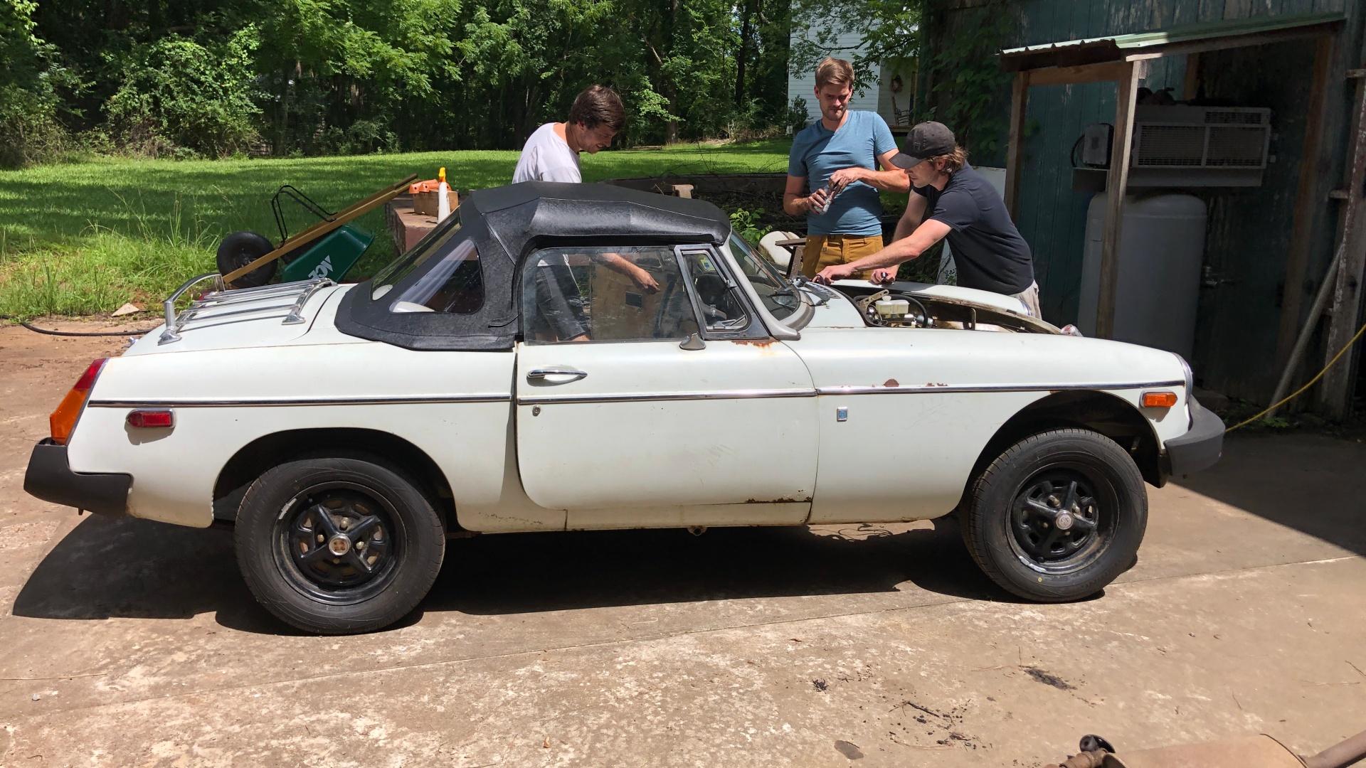 MG MGB classic sports car